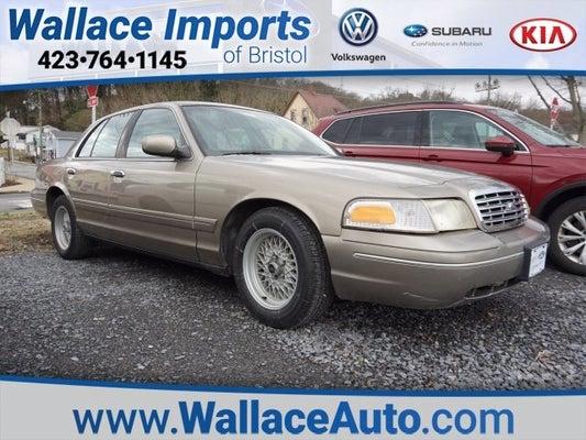 2002 Ford Crown Victoria Lx Bristol Tn Johnson City Kingsport Abingdon Tennessee 2fafp74w62x100319